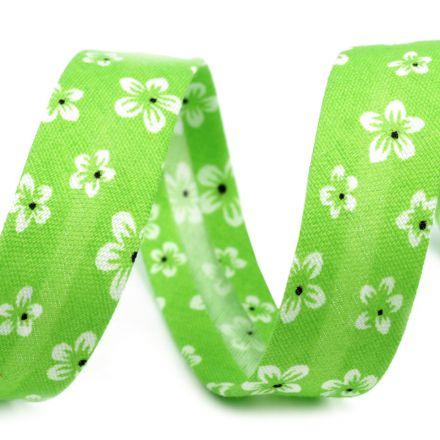 Galanterie: Polyesterový šikmý proužek 14 mm