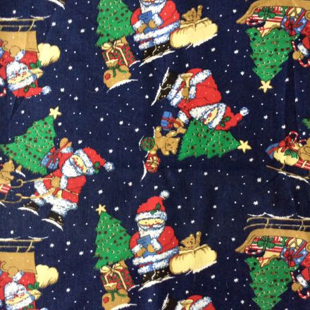 Metráž: Vánoční bavlna