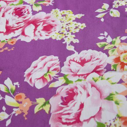 Metráž: Květovaná bavlna