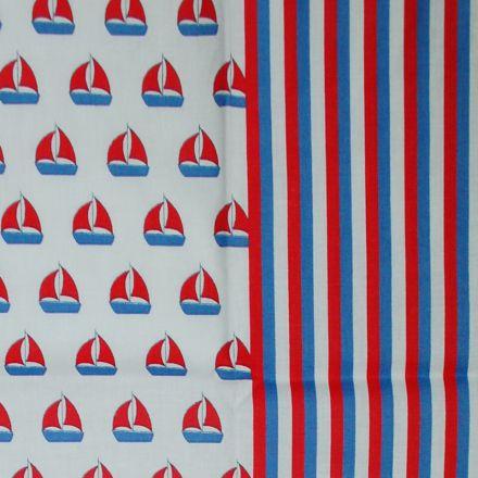 Metráž: Bavlna s lodičkami