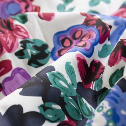 Metráž: Bavlna s květy