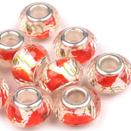 Galanterie: Plastové korálky