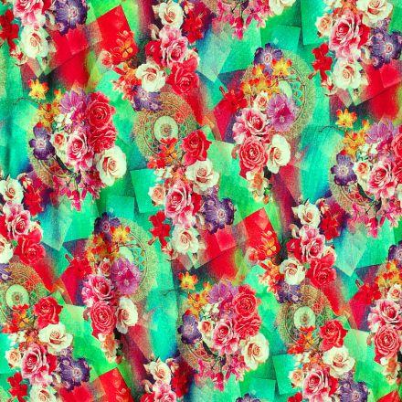 Metráž: Úplet s květy