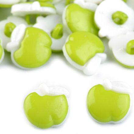 Galanterie: Knoflík jablko