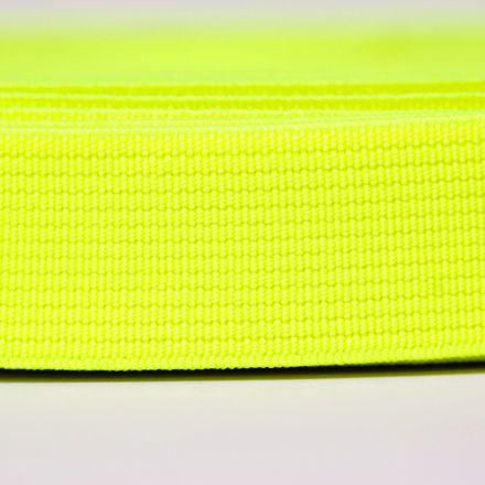 Galanterie: Pruženka šíře 20 mm - žlutá neon