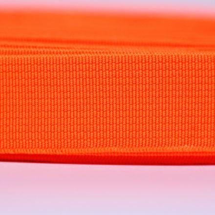 Galanterie: Pruženka šíře 20 mm - oranžová neon