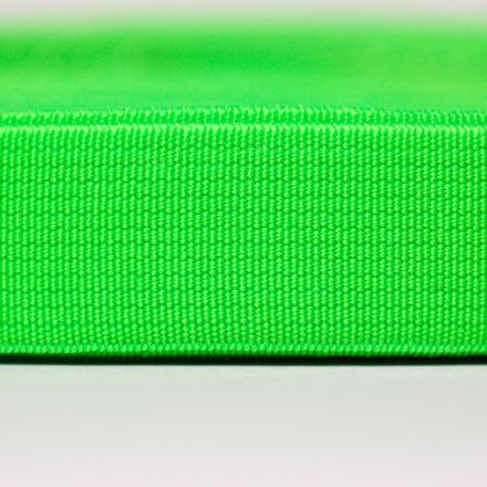 Galanterie: Pruženka šíře 20 mm - zelená neon