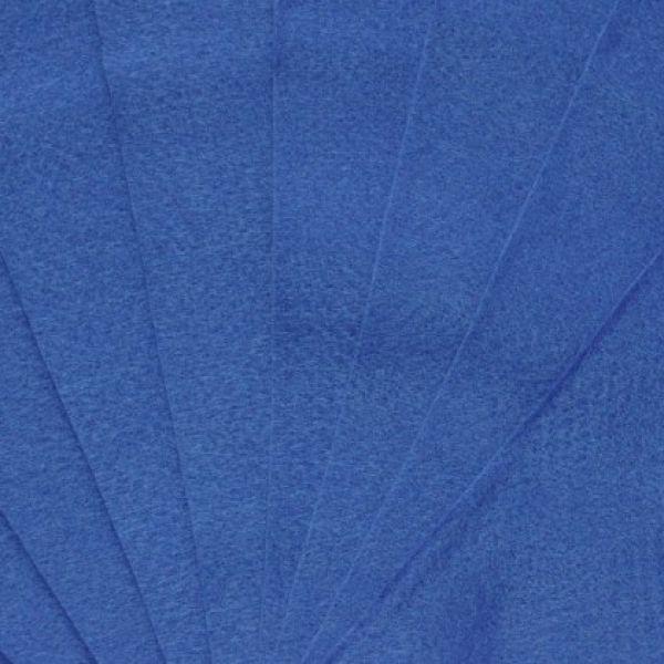 Filc 20x30cm - královsky modrá