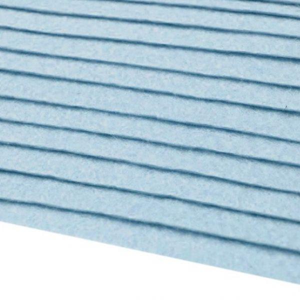 Filc 20x30cm pomněnkově modrá
