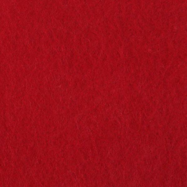 Filc 20x30cm - červená