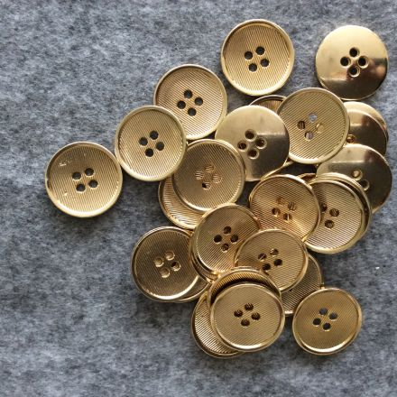 Galanterie: Knoflík zlatý