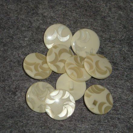 Galanterie: Knoflík plastový