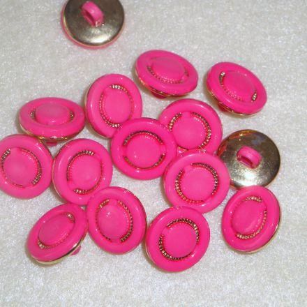 Galanterie: Knoflík růžový
