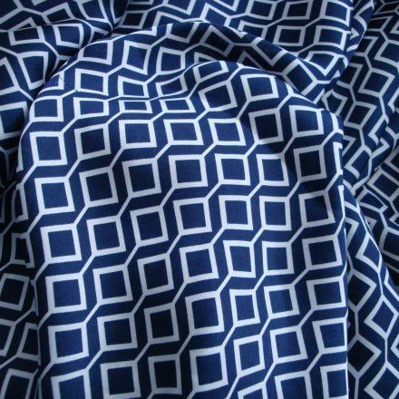 Metráž: Šatovka modrobílá