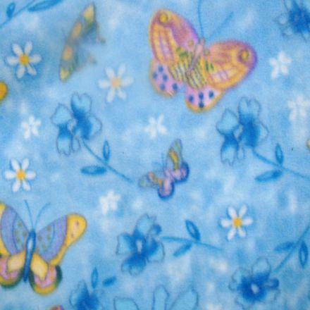 Metráž: Fleece s motýlky