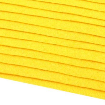 Galanterie: Filc 20x30cm - žlutá