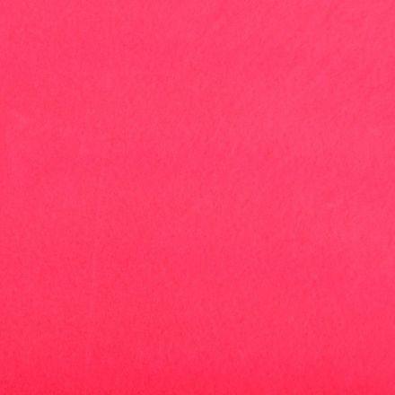 Galanterie: Filc neonově růžový