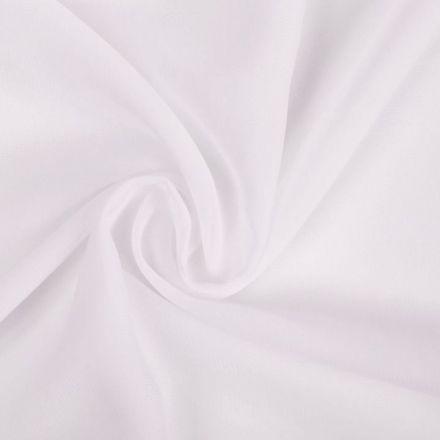 Metráž: Šifon bílý