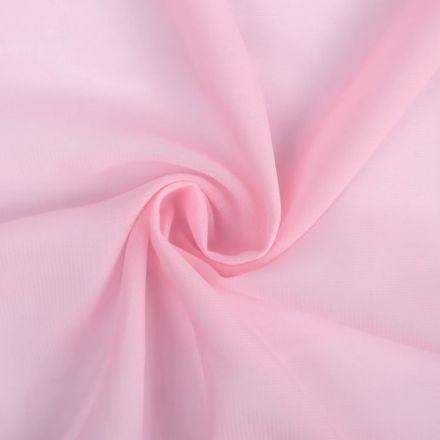 Metráž: Šifon světle růžový