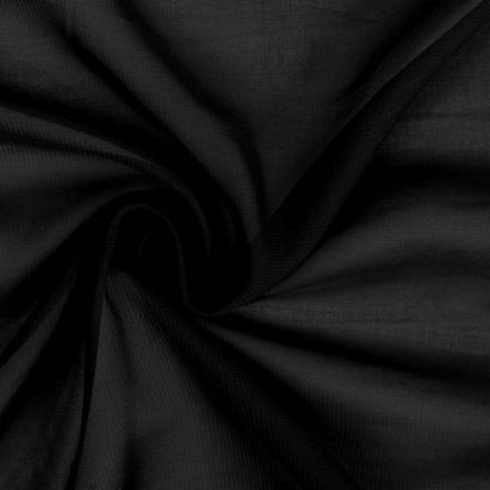 Metráž: Šifón černý