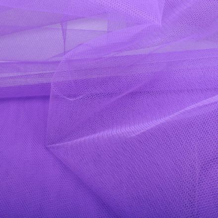 Metráž: Tyl světle fialový - š- 280 cm