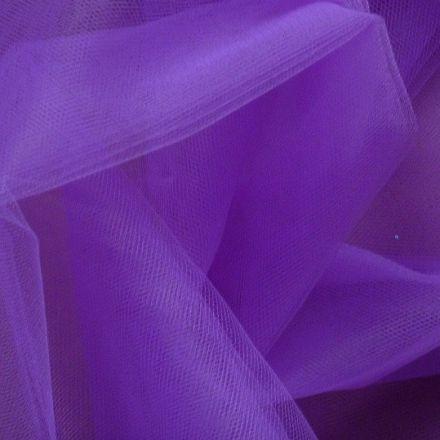 Metráž: Tyl tmavě fialový - š. 280 cm