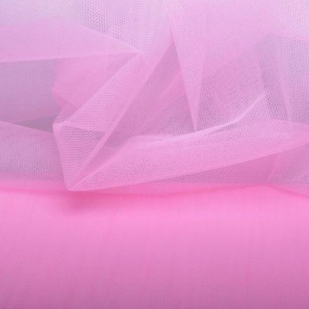 Metráž: Tyl růžový - š. 280 cm