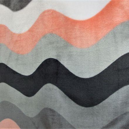 Metráž: Fleece vlnky