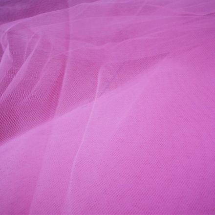 Metráž: Tyl tmavě růžový - š. 280 cm