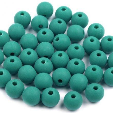 Galanterie: Plastové korálky - 30 kusů