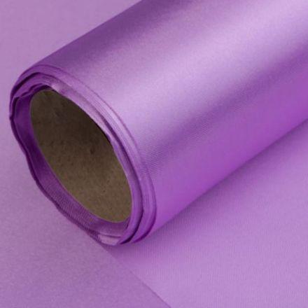 Galanterie: Satén šíře 14 cm - fialová