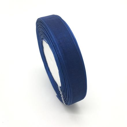 Galanterie: Monofilová stuha modrá 9 mm
