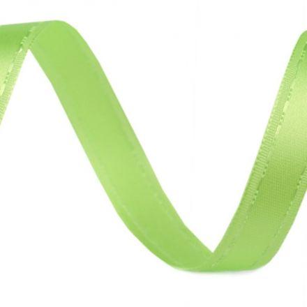 Galanterie: Atlasová stuha zelená - 13 mm