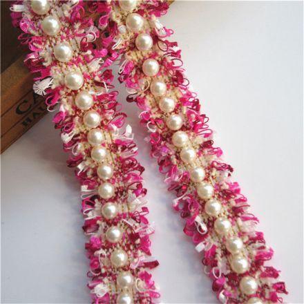 Galanterie: Prýmek s perličkami