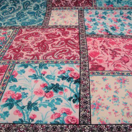 Metráž: Šatovka vzor patchwork