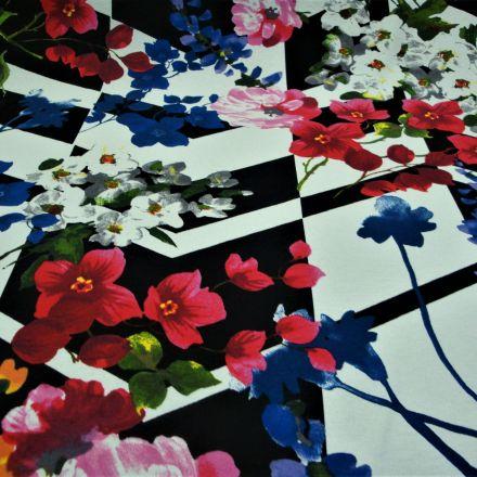 Metráž: Úplet květy