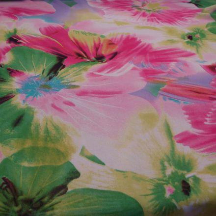 Metráž: Šifon květy