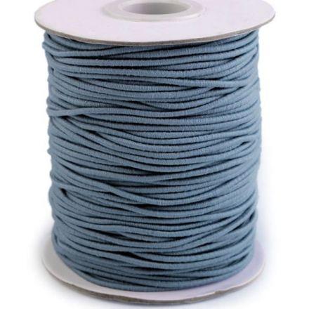 Galanterie: Kulatá pruženka - modrošedá