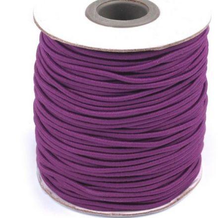 Galanterie: Kulatá pruženka - fialová