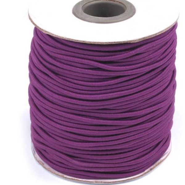 Kulatá pruženka - fialová
