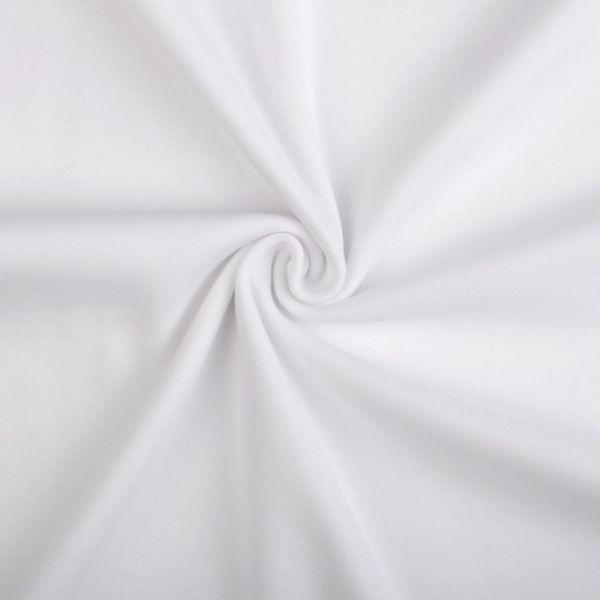 Elastický náplet - bílá