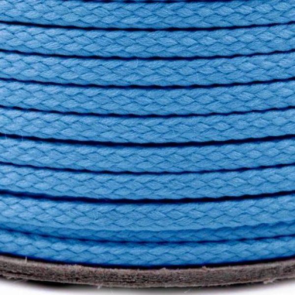 Oděvní šňůra - modrá