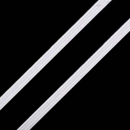 Galanterie: Pruženka plochá - bílá