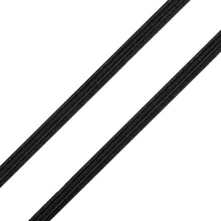 Galanterie: Pruženka plochá - černá