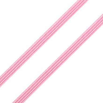 Galanterie: Pruženka plochá - růžová