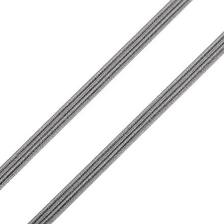 Galanterie: Pruženka plochá - šedá
