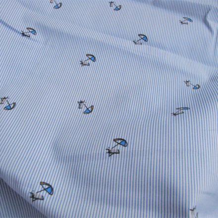 Metráž: Bavlna s motivem deštníků