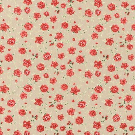 Metráž: Bavlna kytička