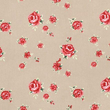 Metráž: Bavlna květy