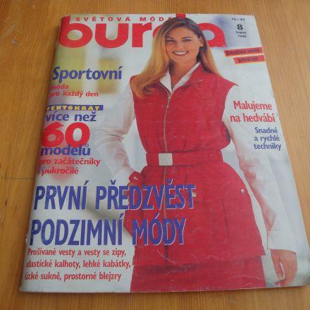 Časopis Burda - 8/96